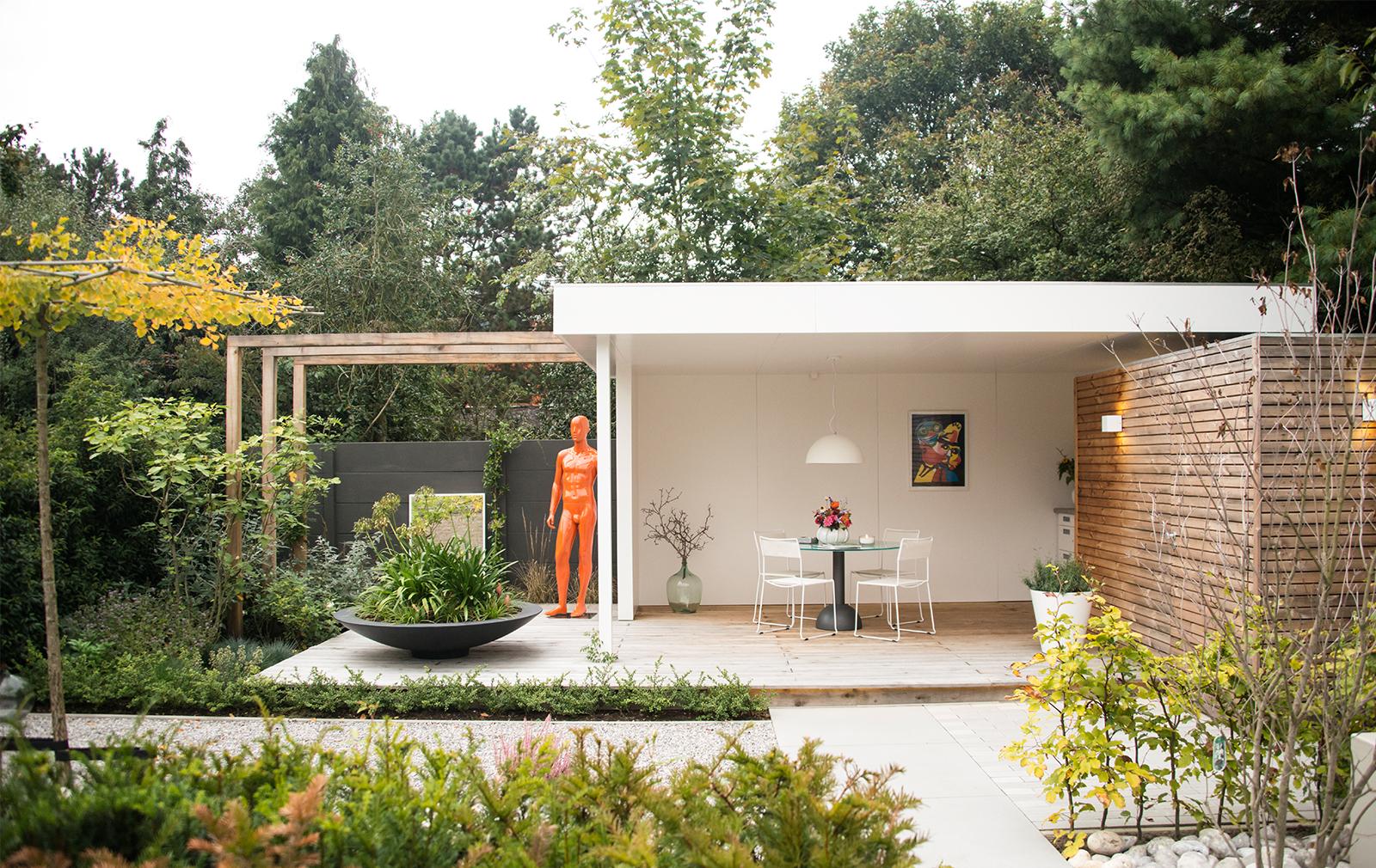 Modern Tuinhuis In Roosendaal Brouwers Houtbouw